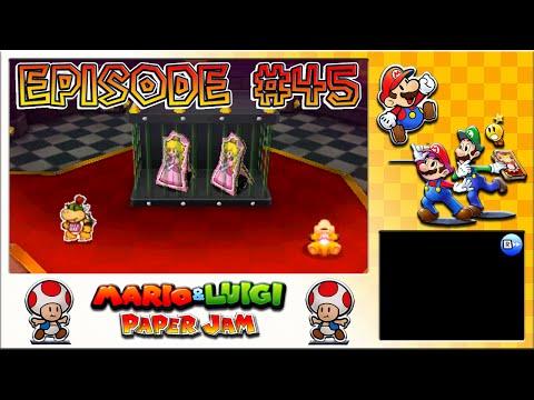 Mario & Luigi: Paper Jam - Toadette Rescue, Peach's Freedom Bid - Episode 45