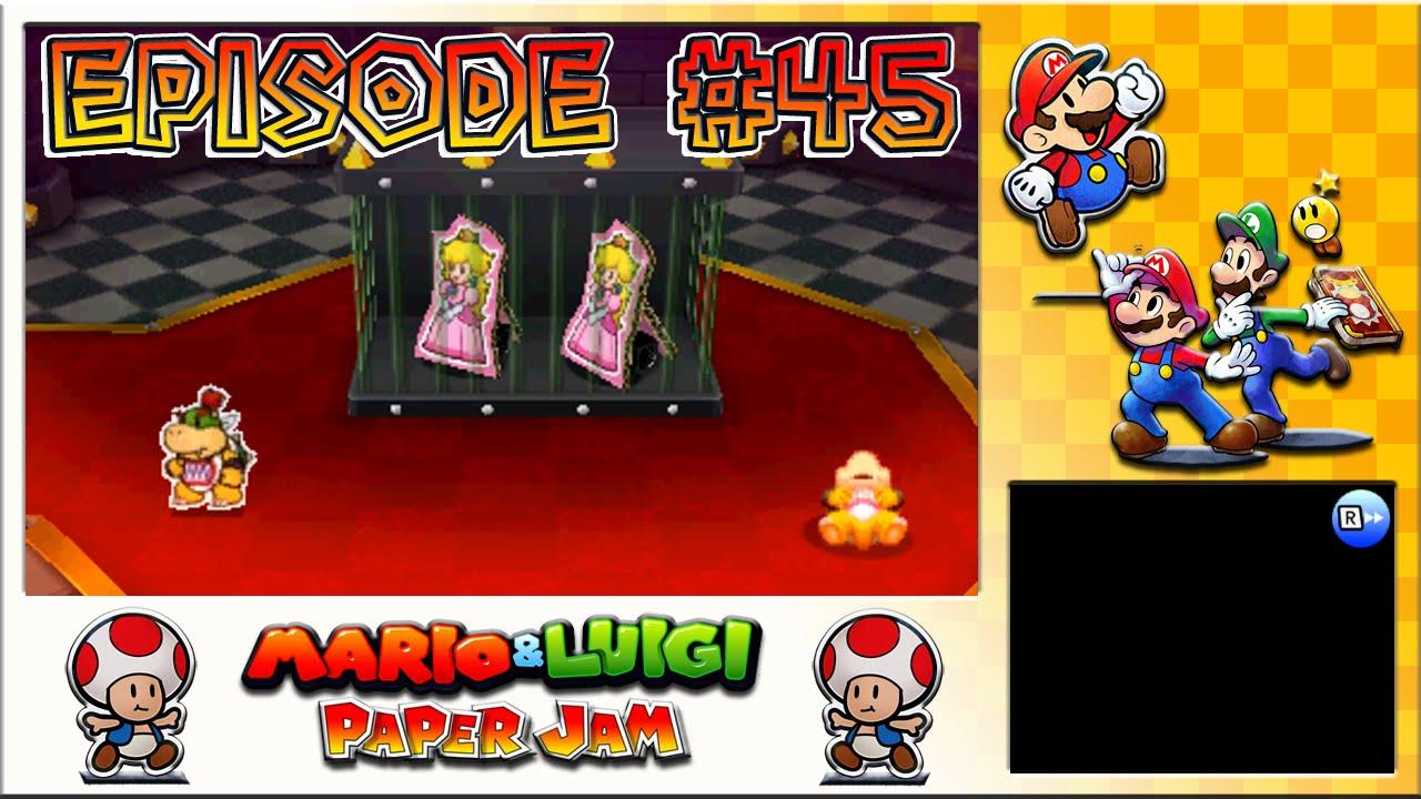 Mario Luigi Paper Jam Toadette Rescue Peach S Freedom Bid