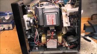 Was steckt in einer Mikrowelle? - Das Innere einer Mikrowelle