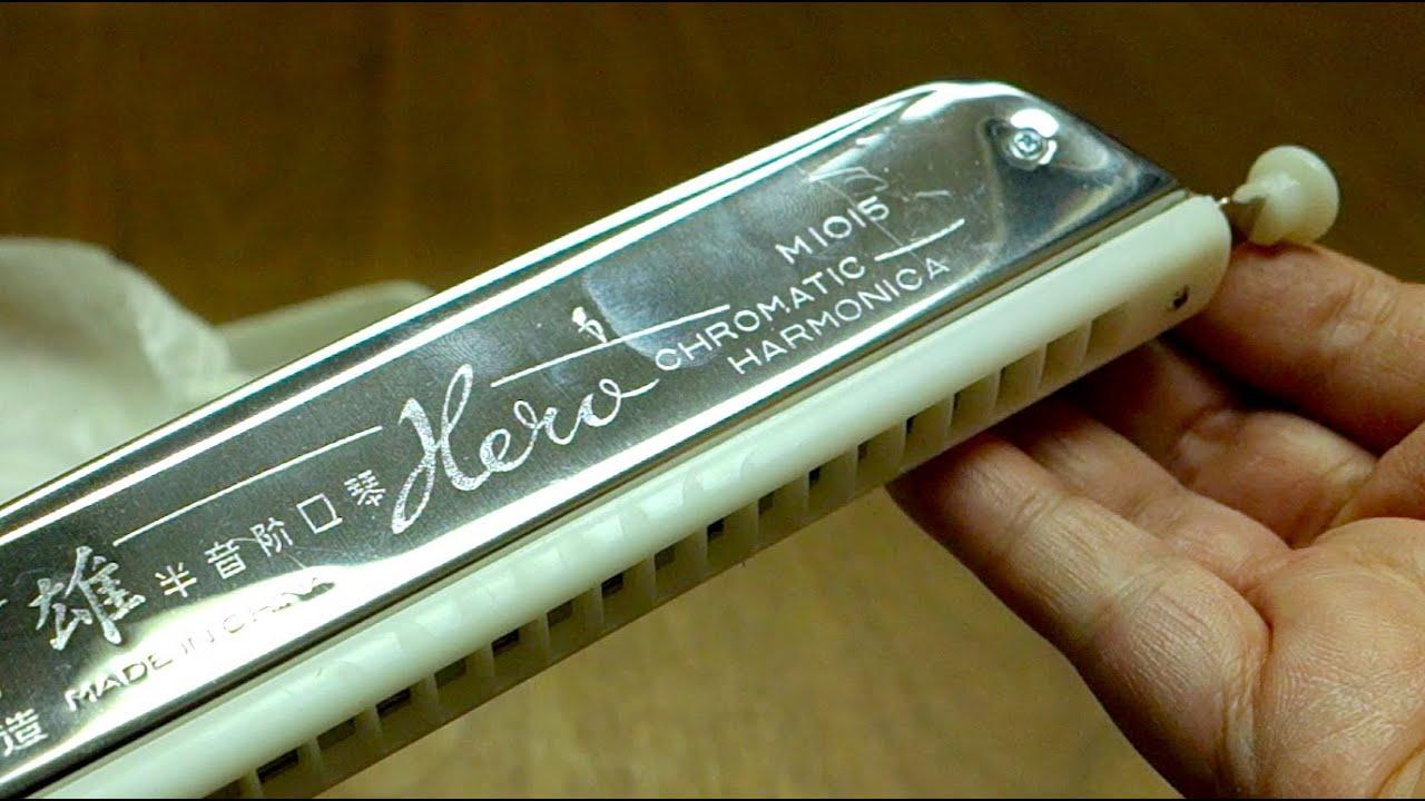 how to play hero harmonica