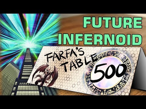 "Table 500 #142 Future Infernoid ""Technical play table 1, archetype table 500, table 250 average"""