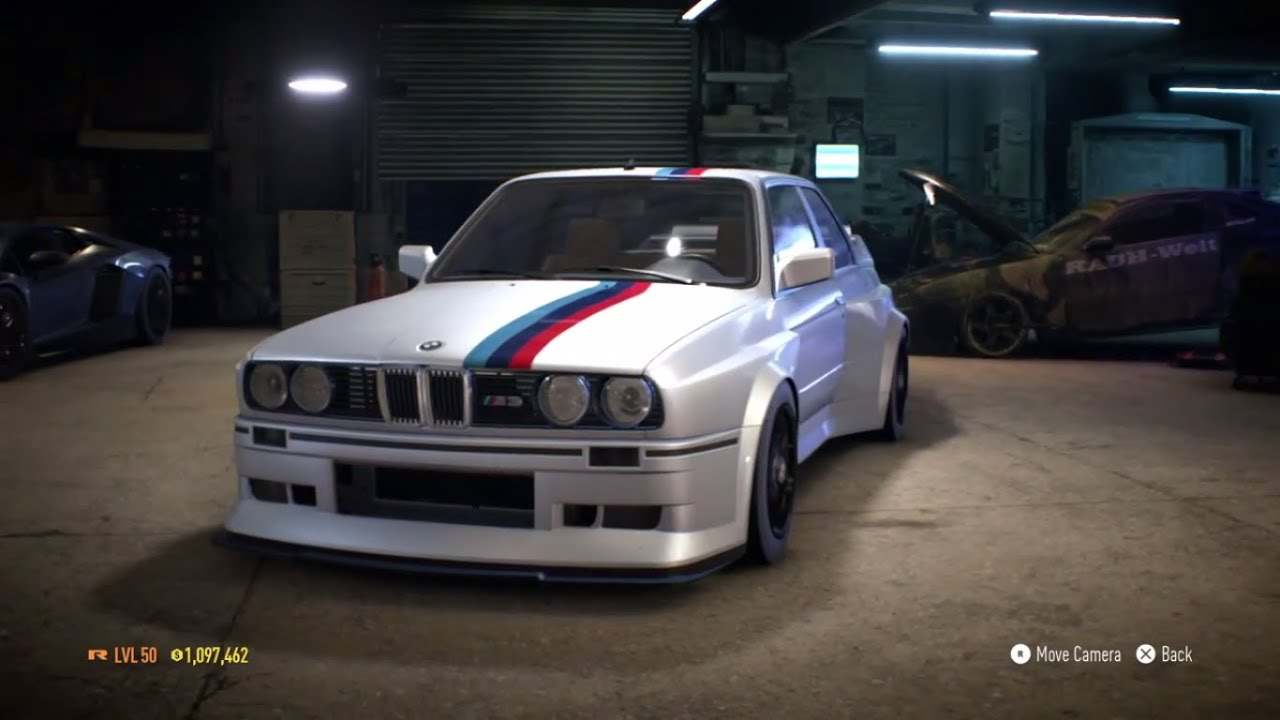 Need For Speed 2015 Quot Bmw M3 Evolution Ll E30 1988 Quot 1025 Hp Build Gameplay Youtube