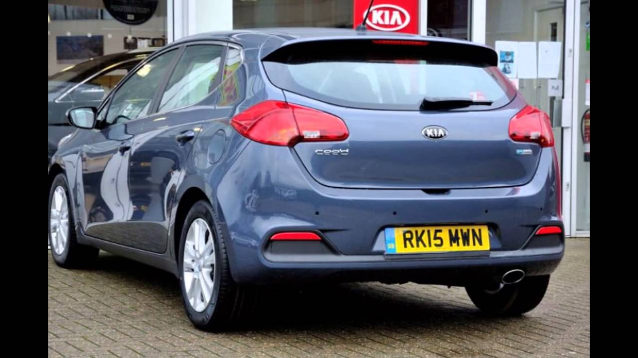 2016 Kia Ceed Planet Blue - YouTube