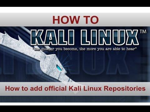 Installing VPN on Kali Linux