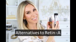 My Favorite GENTLE & EFFECTIVE Vitamin A Skincare | No Redness, Peeling, or Flaky Skin