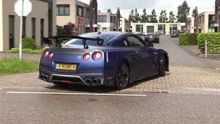 Modified Nissan GT-R R35 - Arriving at Gozilla Car Meet!