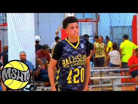 Michael Mitchell DOES EVERYTHING at the 2016 EBC Jr All American Camp