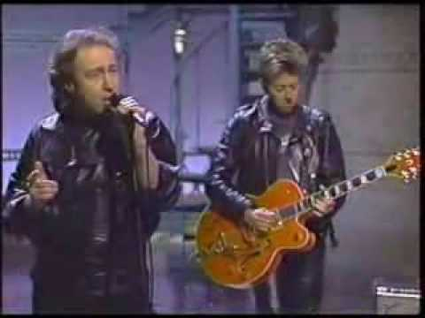 Paul Rodgers On Letterman With Brian Setzer - The Hunter.flv