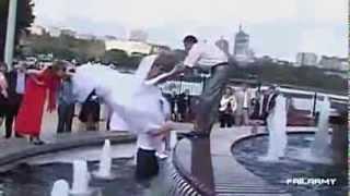 Najlepsze weselne wpadki 2013 2014 śmieszne filmy ślubne kompilacja