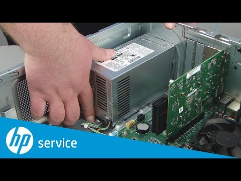Replace the power supply | HP Pavilion Gaming 790-xxx PC Series and ENVY Desktop 795-000 CTO | HP