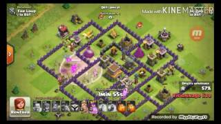 clash of clans - défence contre des bébé dragon (feat Le_Gab)