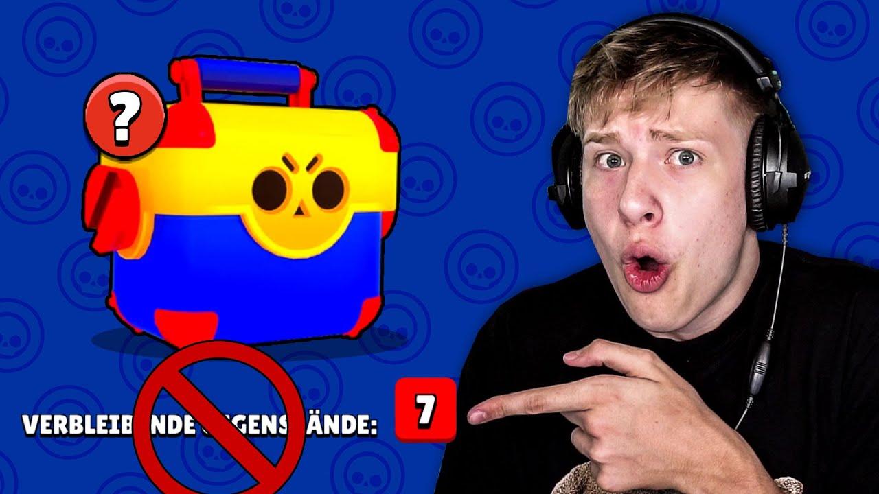 Das Video ENDET sobald ich 7 VERBLEIBENDE GEGENSTÄNDE GEZOGEN HABE • Brawl Stars deutsch