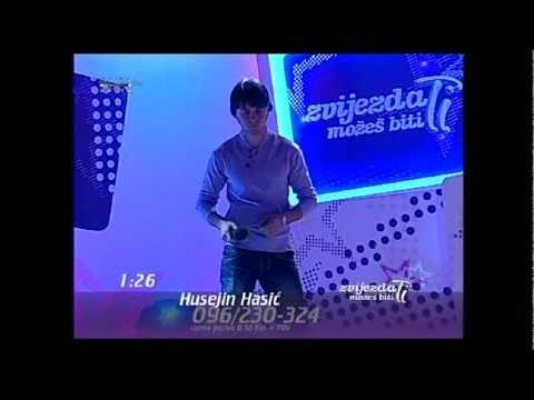 """Zvijezda  mozes biti ti - Husejin Hasic """"Zivot bez nje tuga je"""""""