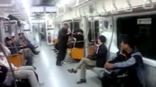 지하철 할아버지들의 혈투