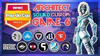 Architect Pop-Up 🥊Squad Customs🥊 Game 6 (Fortnite)