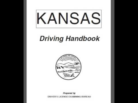 kansas written drivers test sample