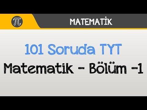 101 Soruda TYT Matematik - Bölüm -1