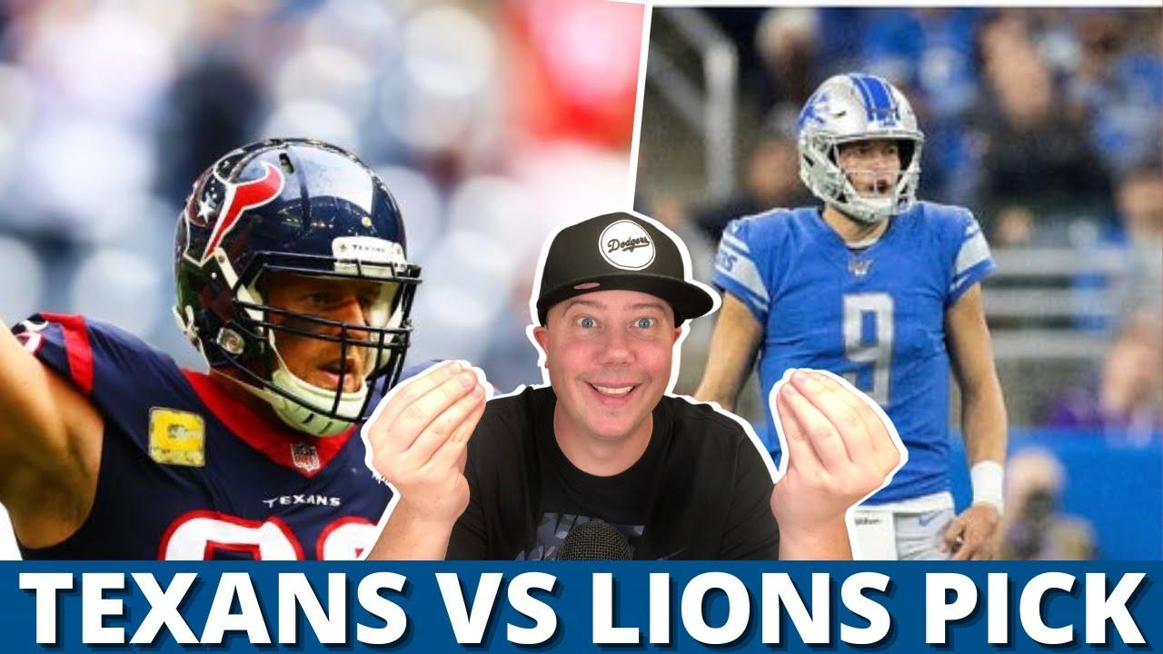 NFL Thanksgiving expert picks: Detroit Lions vs. Houston Texans ...