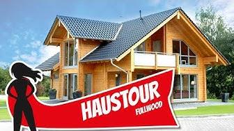 Haustour: Massives Holzhaus Sommerwiese von Fullwood Wohnblockhaus | Hausbau Helden