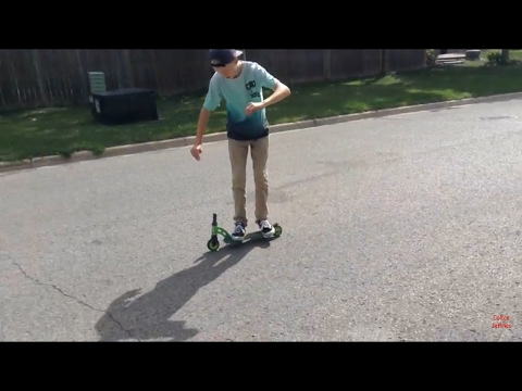 Scooter With No Handle Bars Vlog