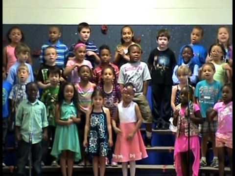 Kenwood School 2014 Spring Music Program -- First Grade