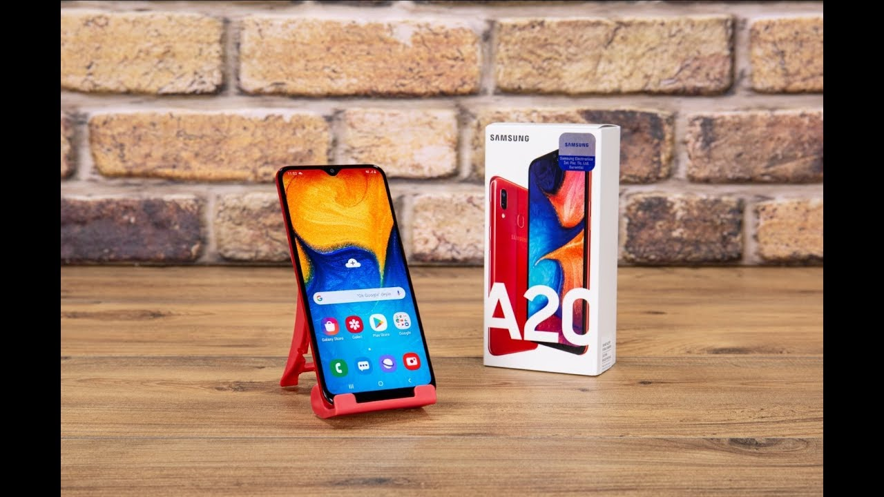 Samsung Galaxy A20 2019 Akıllı Cep Telefon Ürün İnceleme