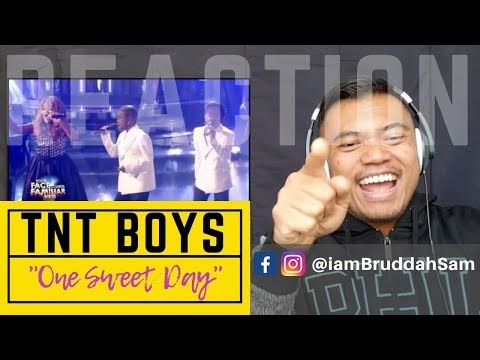 """TNT BOYS singing, """"One Sweet Day"""" on Your Face Sounds Familiar Kids 