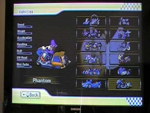 Mario kart wii absolutely everything unlocked youtube - Mario kart wii voiture ...