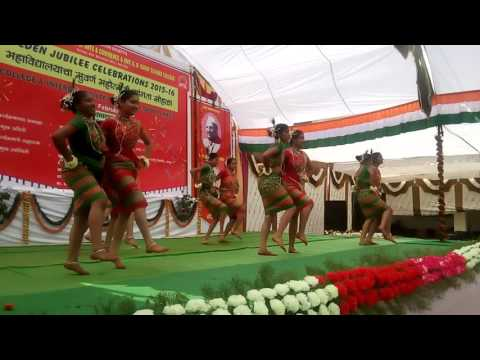 Folk dance on remo's flute by S N Mor College Students