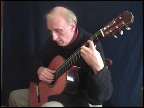 """Ludwig van Beethoven - Sonata Op. 14 Nº 2 """"Moonlight"""" (Adagio) guitar by Cesar Amaro"""
