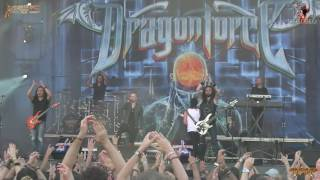 Dragonforce - Heroes of Our Time (live XI Leyendas del Rock, 11-08-2016)