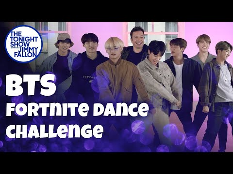 Watch: BTS Fortnite Dance Challenge