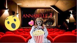 ANNABELLE vai ao cinema assistir seu FILME ANNABELLE 3