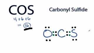 COS Lewis Structure: How to Draw the Lewis Structure for (COS)