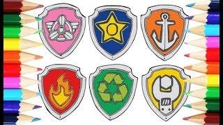 PAW Patrol Puppies Badges (Щенячий патруль: Значки щенков)