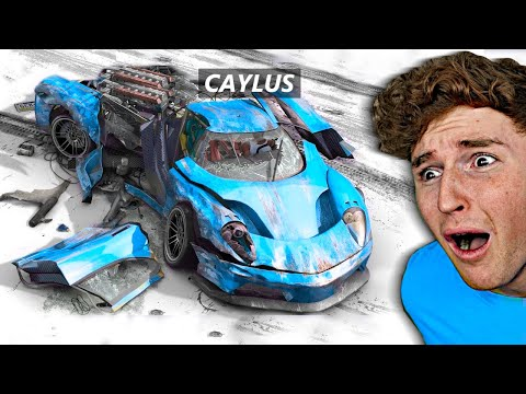 I tried a REALISTIC CRASH MOD And This Happened.. (GTA 5 Mods)