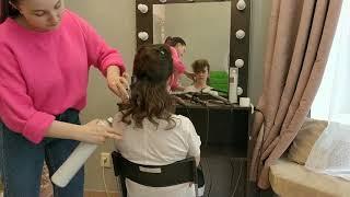 """Бесплатный урок """"3 техники накрутки волос"""""""