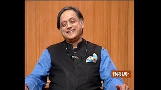 Shashi Tharoor on Aap ki Adalat: I am often trolled for my vocabulary