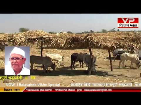 Vision Plus Channel Live Balasaheb Vikhe Special
