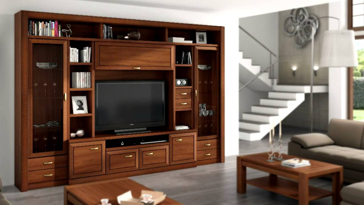 415 mueble salon portugues mp4 youtube. Black Bedroom Furniture Sets. Home Design Ideas