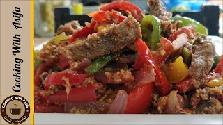 Mutton jalfrezi recipe by Cooking with Asifa