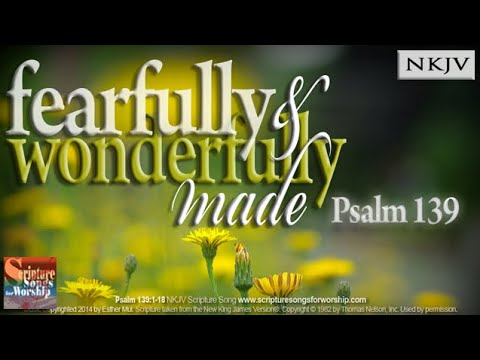 Psalm139:1-18 Song