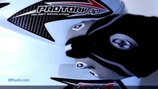 Tutorial Como trocar a viseira do seu capacete Pro Tork New Liberty 4 - Off Rush