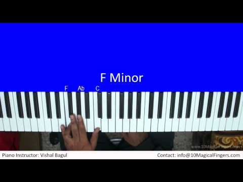 Kabhi Jo Badal Barse Piano Tutorial by Vishal Bagul   Melody + Arpeggios   10 Magical Fingers