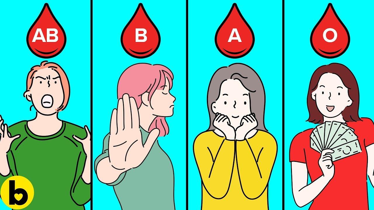 Што кажува вашата крвна група за вашиот карактер?