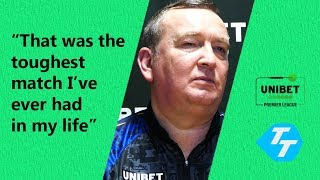 Glen Durrant REACTS to draw with Fallon Sherrock |