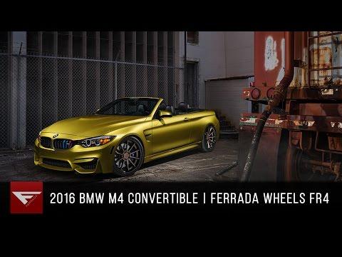 2016 BMW M4 Convertible | Ferrada FR4 Matte Bronze / Gloss Black Lip