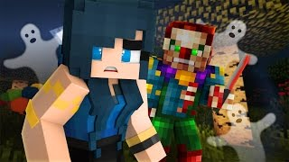 Minecraft Camping - CREEPY KILLER CLOWN!? (Minecraft Roleplay) #2