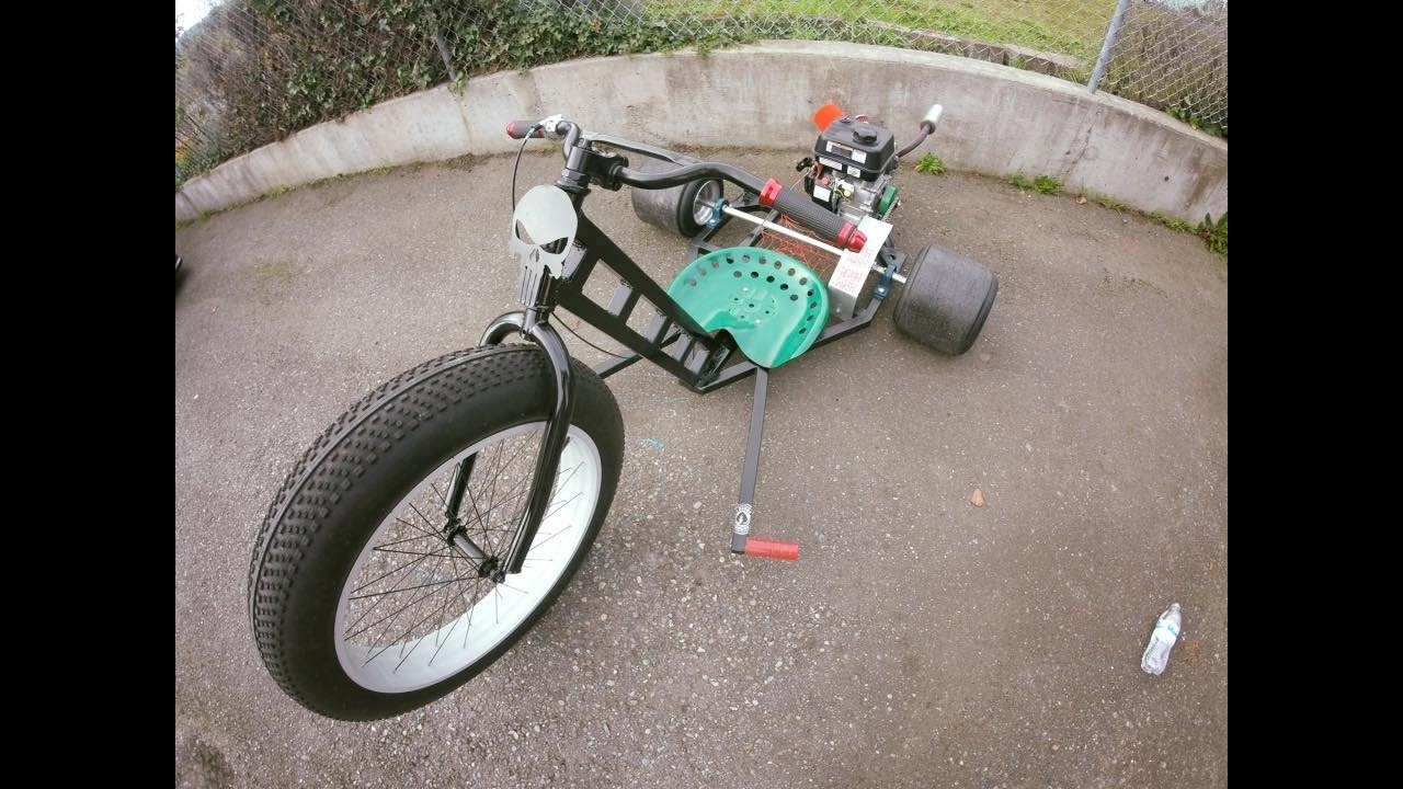 Motorized Drift Trike Build   The Drift King™