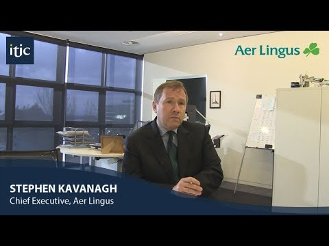 Interview with Aer Lingus CEO Stephen Kavanagh who outlines airline's ambitious growth plans